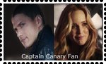 Captain Canary Stamp by WOLFBLADE111