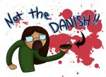 Eating Danish by Armadria