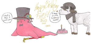 Happy Birthday Fumama - what by Lilblkrose