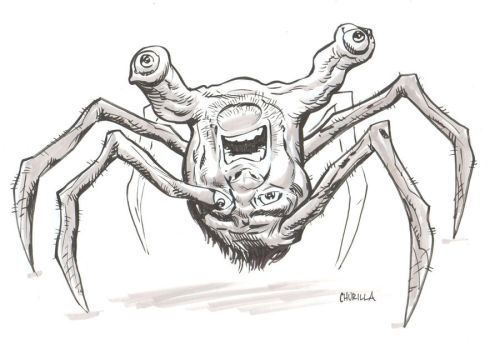 Spiderhead from John Carpenter's The Thing by BrianChurilla