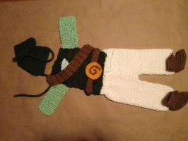 Legend of Zelda baby outfit by Drgibbs
