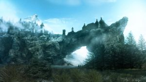 Skyrim Solitude by 1Rich1