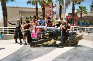 FF VII Cast From a Distance by Balfran