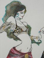Belly Dance Logo by Contrapposto