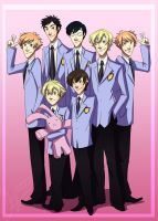 Ouran Hosts For Faith by Crista-Galli