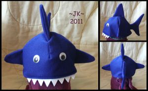 Man-Eating Shark Hat by VampirateMace