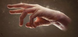 Hand Study 4 Day #25 by AngelGanev