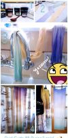 Simple tutorial for silk dyeing! (Gradient) by Elysium-Sans
