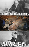 Unfazed Lenin by Party9999999