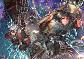 All hands on deck by kawacy