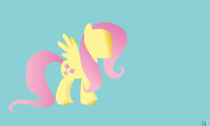 Fluttershy Wallpaper by MysticWonderingWoman