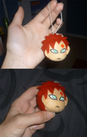 Mini Gaara head: prototype by goiku
