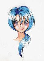 Blue Hair by ReJuvenile