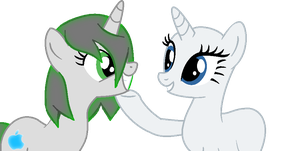 Collab- ''You're even cuter up close!'' by judai-yuuki