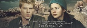 Catching Fire Would You Go? by Leesa-M