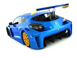 Renault Megane Trophy Car 2 by SamauriPizzaCats