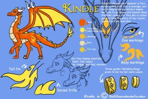 Kindle reference sheet by DragonCid