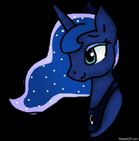 Luna Blink and Hair Wave. by Honey-PawStep