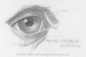 Eye Study 1 by TechnologicBookwyrm