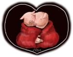 family pigs by LiCiK-A
