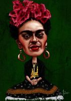 Frida Kahlo by ziggy-q