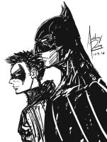 Bat and Rob by Archonyto