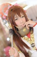 Kantai collection : Yamato Cosplay by yukigodbless