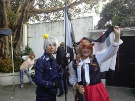 prussia and hungary cosplay by dragongirl200021