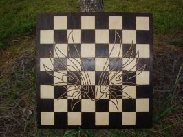 Clamp Chessboard unfinished by ironhorn2501