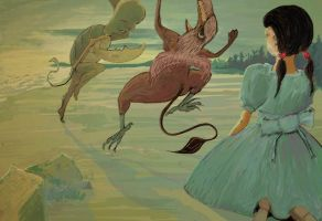 The Lobster Quadrille by valkea
