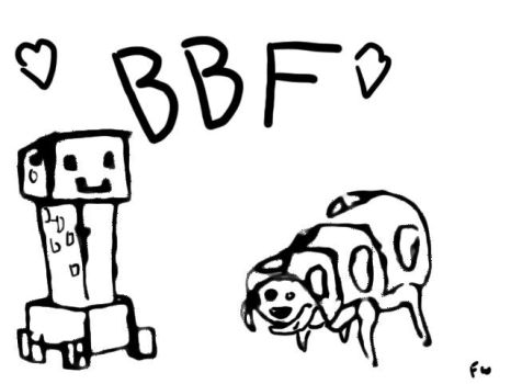 Baneling and Creeper BFF by AndThreeForTheWin