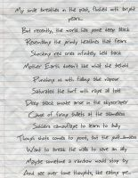 sonnet crumpled by mikee45514