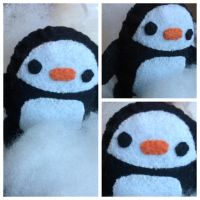 Penguin Plushie by Creative-4ever