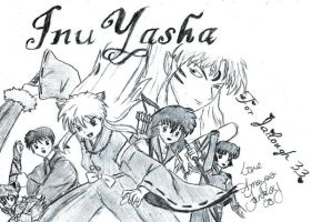 InuYasha for Jailough33 by AmayasFantasy