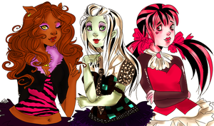 Monster-High! by SweetasTea