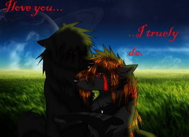 I love you, truely by Korclabael