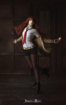 Steins Gate -  through space and time by MiraMarta