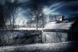 Winter HDR by HeroinForMyHeroine