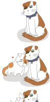[Nekotalia] Scottish Folds by wolfifi