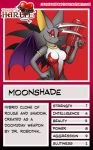 Trading Card - Moonshade by jessiesheram