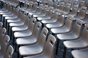 Empty Chairs 15393016 by StockProject1