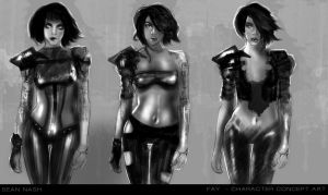 Fay - Character Concept Art by SeanNash