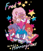 Fred and the Horrorgrams by SoVeryUnofficial