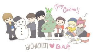 Merry Christmas B.A.P by NarussHina