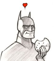 Bat Cookie by RobtheDoodler