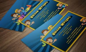 JollySand Business card by TimothyGuo86