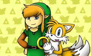 GIFT: Link and Tails by SamSonic