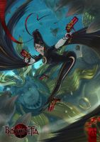 .bayonetta v beloved. by houoh