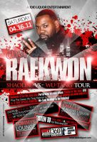Raekwon Flyer by AnotherBcreation