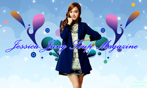 [WALLPAPER] Jessica Jung Soup Magazine by ArdeliaExotics